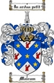 Thumbnail Malcum Family Crest  Malcum Coat of Arms