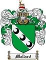 Thumbnail Mallard Family Crest Mallard Coat of Arms Digital Download