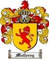Thumbnail Mallorey Family Crest  Mallorey Coat of Arms