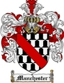 Thumbnail Manchester Family Crest Manchester Coat of Arms Digital Download