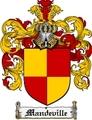 Thumbnail Mandeville Family Crest Mandeville Coat of Arms Digital Download
