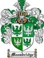 Thumbnail Mansbridge Family Crest Mansbridge Coat of Arms Digital Download