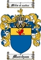 Thumbnail Marcham Family Crest  Marcham Coat of Arms