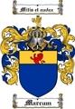 Thumbnail Marcum Family Crest  Marcum Coat of Arms
