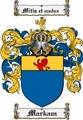 Thumbnail Markam Family Crest  Markam Coat of Arms