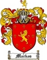 Thumbnail Markes Family Crest  Markes Coat of Arms
