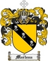 Thumbnail Marleau Family Crest  Marleau Coat of Arms