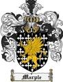 Thumbnail Marple Family Crest Marple Coat of Arms Digital Download