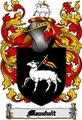 Thumbnail Mauduit Family Crest  Mauduit Coat of Arms Digital Download