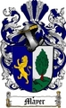 Thumbnail Mayer Family Crest  Mayer Coat of Arms