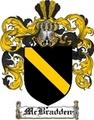 Thumbnail Mcbradden Family Crest  Mcbradden Coat of Arms