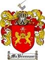 Thumbnail Mcbrennan Family Crest  Mcbrennan Coat of Arms