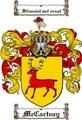 Thumbnail Mccartney Family Crest  Mccartney Coat of Arms