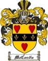 Thumbnail Mccordie Family Crest  Mccordie Coat of Arms