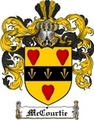 Thumbnail Mccourtie Family Crest  Mccourtie Coat of Arms