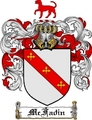 Thumbnail Mcfadin Family Crest  Mcfadin Coat of Arms