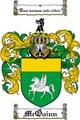 Thumbnail Mcquinn Family Crest  Mcquinn Coat of Arms