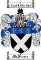 Thumbnail Mcsherra Family Crest  Mcsherra Coat of Arms