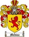 Thumbnail Medina Family Crest / Medina Coat of Arms