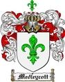 Thumbnail Medleycott Family Crest  Medleycott Coat of Arms