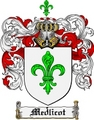 Thumbnail Medlicot Family Crest  Medlicot Coat of Arms