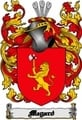 Thumbnail Megard Family Crest  Megard Coat of Arms Digital Download
