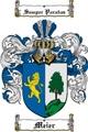 Thumbnail Meier Family Crest  Meier Coat of Arms
