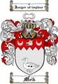 Thumbnail Meik Family Crest  Meik Coat of Arms