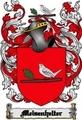 Thumbnail Meisenhelter Family Crest  Meisenhelter Coat of Arms Digital Download