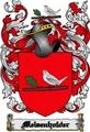 Thumbnail Meisenholder Family Crest  Meisenholder Coat of Arms Digital Download