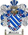 Thumbnail Melendez Family Crest  Melendez Coat of Arms