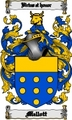 Thumbnail Mellott Family Crest  Mellott Coat of Arms Digital Download