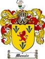 Thumbnail Menair Family Crest  Menair Coat of Arms