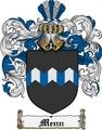 Thumbnail Menn Family Crest  Menn Coat of Arms