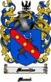 Thumbnail Mennillo Family Crest  Mennillo Coat of Arms Digital Download