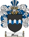 Thumbnail Meny Family Crest  Meny Coat of Arms