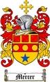 Thumbnail Mercer Family Crest  Mercer Coat of Arms Digital Download