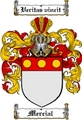 Thumbnail Mercial Family Crest  Mercial Coat of Arms