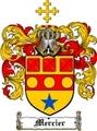 Thumbnail Mercier Family Crest  Mercier Coat of Arms