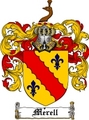 Thumbnail Merell Family Crest  Merell Coat of Arms