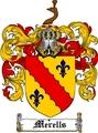 Thumbnail Merells Family Crest  Merells Coat of Arms