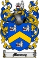Thumbnail Meroney Family Crest  Meroney Coat of Arms Digital Download