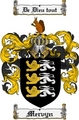 Thumbnail Mervyn Family Crest Mervyn Coat of Arms Digital Download