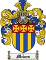 Thumbnail Mewes Family Crest Mewes Coat of Arms Digital Download
