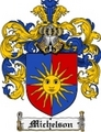 Thumbnail Michelson Family Crest Michelson Coat of Arms Digital Download