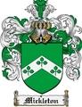 Thumbnail Mickleton Family Crest Mickleton Coat of Arms Digital Download