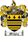 Thumbnail Midgley Family Crest Midgley Coat of Arms Digital Download