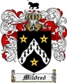 Thumbnail Mildred Family Crest Mildred Coat of Arms Digital Download