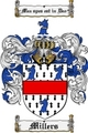 Thumbnail Millers Family Crest  Millers Coat of Arms
