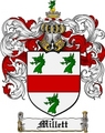 Thumbnail Millett Family Crest Millett Coat of Arms Digital Download